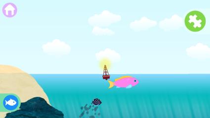 Ikan masuk ke laut